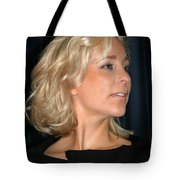 Blond Woman Tote Bag