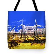 Blowing In The Wind Tote Bag by David Lee Thompson