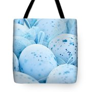 Blue Easter Eggs Tote Bag by Elena Elisseeva