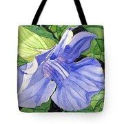 Blue Sky Vine Tote Bag