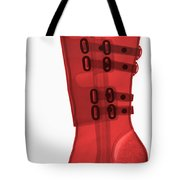 Boot, X-ray Tote Bag