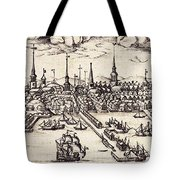 Boston, 1743 Tote Bag