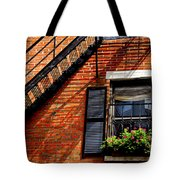 Boston House Fragment Tote Bag