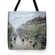 Boulevard Montmartre Tote Bag