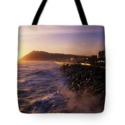 Bray Promenade, Co Wicklow, Ireland Tote Bag