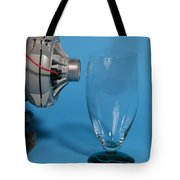 Breaking Glass With Sound Tote Bag