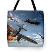 British Hawker Hurricane Aircraft Tote Bag