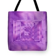 Brushed Purple Violet 11 Tote Bag