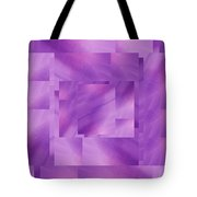 Brushed Purple Violet 3 Tote Bag