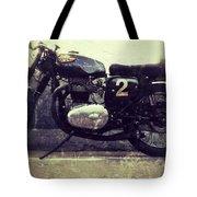 Bsa Motorbike Tote Bag