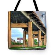 Buffalo Skyway Tote Bag