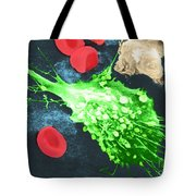 Cancer Cell Death, Sem 1 Of 6 Tote Bag