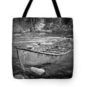 Canoe On The Thornapple River Tote Bag