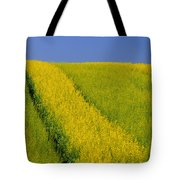 Canola Field, Darlington, Prince Edward Tote Bag