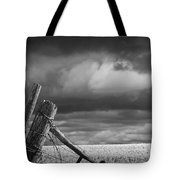 Canola Field In Southern Alberta  Tote Bag