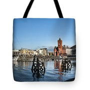 Cardiff Bay Panorama Tote Bag
