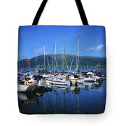 Carlingford Yacht Marina, Co Louth Tote Bag