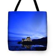Castle In Scotland Tote Bag