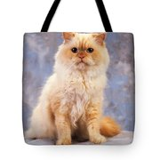 Cat Portrait Of A Cat Tote Bag