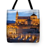 Cathedral Mosque Of Cordoba Tote Bag