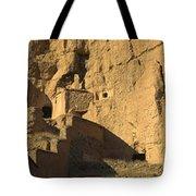 Cave Dwellings Tote Bag