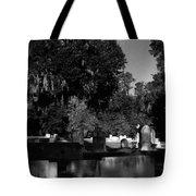Cemetery Natchez Mississippi Tote Bag