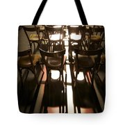 Chairs Tote Bag