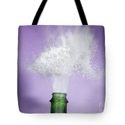 Champagne Cork Popping Tote Bag