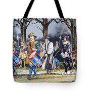 Charles I's Last Walk Tote Bag