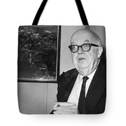 Charles Percy Snow Tote Bag