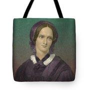 Charlotte Bronte, English Author Tote Bag