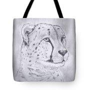 Cheeta Watching Tote Bag