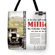 Chevrolet Ad, 1929 Tote Bag