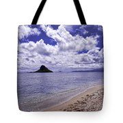 Chinaman S Hat From Kualoa Tote Bag