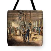 Chinese Workers, 1870 Tote Bag