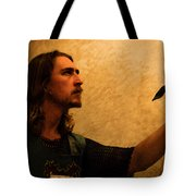 Chivalry Tote Bag by Christopher Gaston