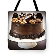 Chocolate Cake Tote Bag by Elena Elisseeva