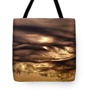 Chocolate Sky Tote Bag
