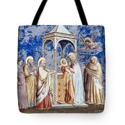 Christ At The Temple Tote Bag
