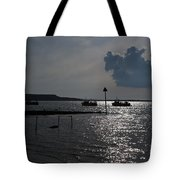 Christchurch Harbour Viewed From Mudeford Tote Bag