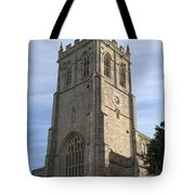 Christchurch Priory Bell Tower Tote Bag