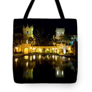 Christmas On The Prado Tote Bag