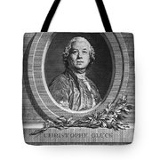 Christoph Willibald Gluck Tote Bag