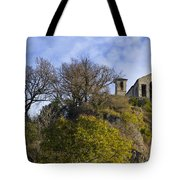 Church On A Hill Tote Bag