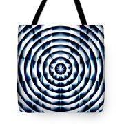 Circle Flower Tote Bag