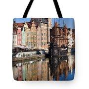City Of Gdansk Tote Bag