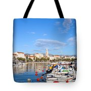 City Of Split In Croatia Tote Bag