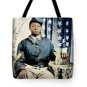 Civil War: Black Soldier Tote Bag