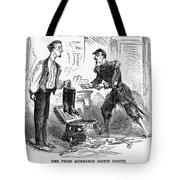 Civil War Cartoon Tote Bag