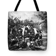 Civil War: Headquarters Tote Bag